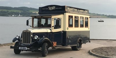 Discover Dundee Tour with Henry the Vintage Bus
