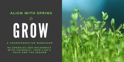 GROW: a workshop to re-energise and reconnect