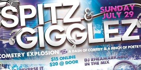 'Spitz & Gigglez' Cometry Special II tickets