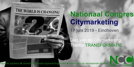 Nationaal Congres Citymarketing tickets