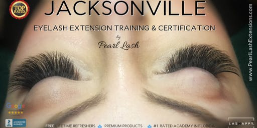 Volume Eyelash Extension Training Hosted by Pearl Lash Jacksonville, FL July 29, 2019