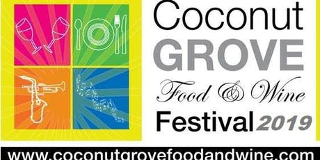 Coconut Grove Food and Wine Festival (A Progressive Walking Tour) tickets