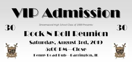 Streamwood High School Class of 1989 - 30th Reunion tickets