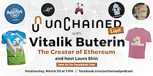 Unchained Live With Vitalik Buterin