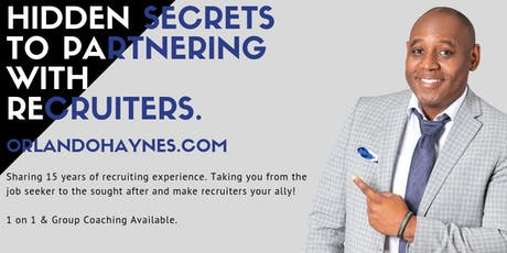 How To Work With Recruiters  tickets