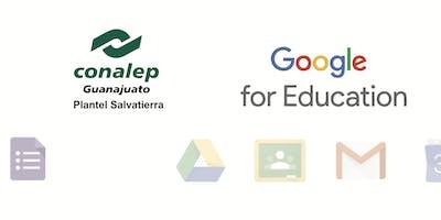 """Capacitación """"Google para Educadores"""" Conalep Salvatierra"""