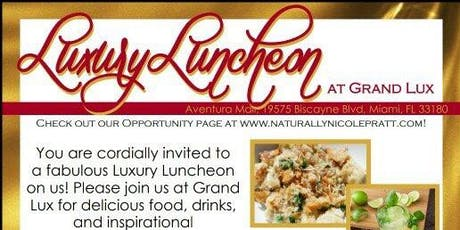 Luxury Luncheon How to Build a Cosmetic Business tickets
