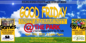 Good Friday Fun in the Park