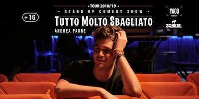 Tutto Molto Sbagliato   Andrea Paone - Stand Up Comedy @Livorno