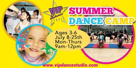 Summer Dance Camp at VIP Ages 3-6 tickets