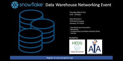 Snowflake Data Warehouse Networking Event