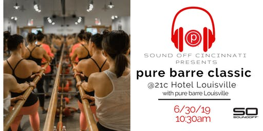 pure barre at 21c Hotel LOUISVILLE