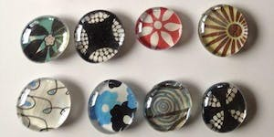 Pinterested: Glass Magnets