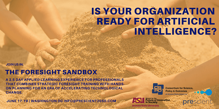 Foresight Sandbox: Learn Strategic Foresight to Plan for the AI Future image