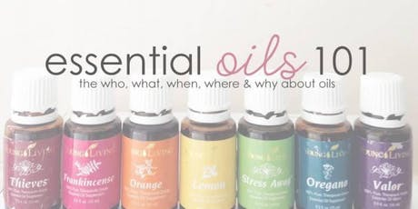 Live and Learn: Essential Oils 101 tickets