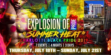 "DESTINI PRODUCTIONS EXPLOSION OF PRIDE ""SUMMER HEAT"" 2019 tickets"