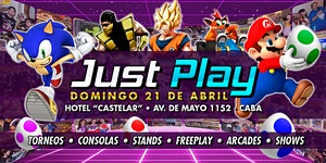 Just Play - Easter Egg Edition! / Evento Gaming!