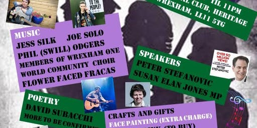Music, Politics and fun fundraising for Clwyd South Women's Forum