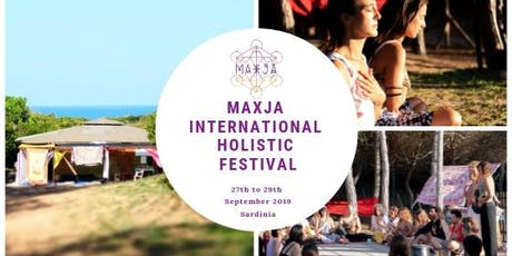 MAXJA 2019 - International Holistic Festival - Sardinia biglietti