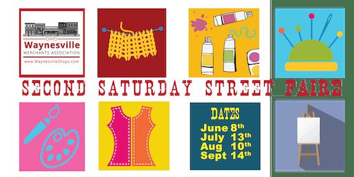July 13th- Second Saturday Street Faire Waynesville Ohio - Culinary Art Contest