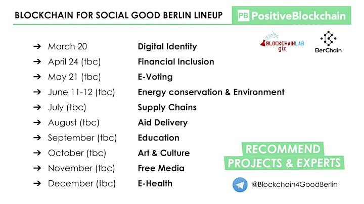 Blockchain for Social Good Berlin - Digital Identity meetup image
