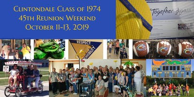 Clintondale Class of 1974 - 45th Reunion... Friends Together Again