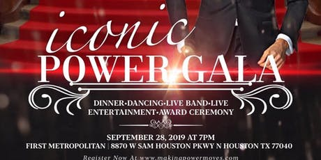 Iconic Power Gala tickets