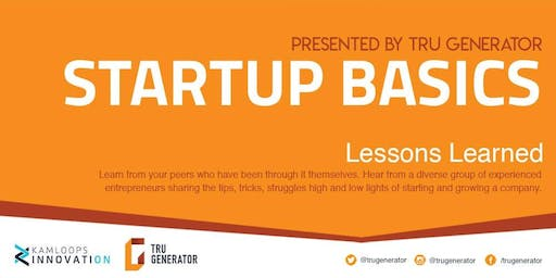 Startup Basics: Lessons Learned Panel
