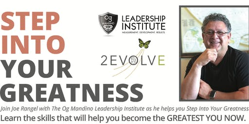 Step Into Your Greatness Now! Mishawaka, IN