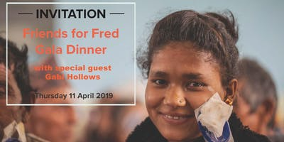 Fundraising Dinner for Fred Hollows