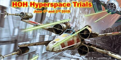 X-wing: 2019 Hyperspace Trial