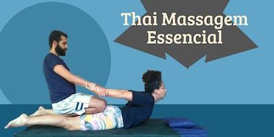 Workshop - Thai Massagem Essencial