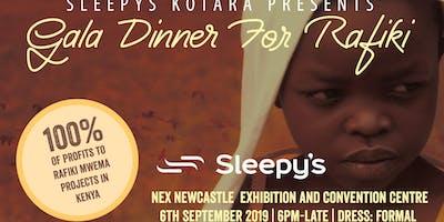 The 2nd Rafiki Gala Dinner by Sleepy's Kotara.