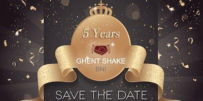 5 Jaar BNI Ghent Shake