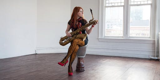 "LIVE LEARN JAZZ:  ""Women of the Hour"" SAX in the VINEYARD"