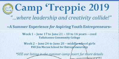 CAMP 'TREPPIE 2019: A Summer Experience for Aspiring Youth Entrepreneurs