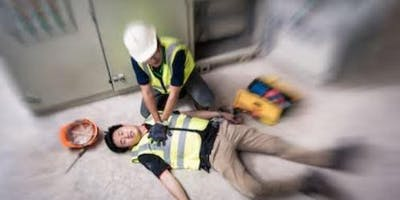 Level 3 Emergency First Aid at Work (One Day Course), Stoke