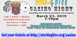 Fire-N-Dice Casino Night 2019 - Presented by Ted Britt...