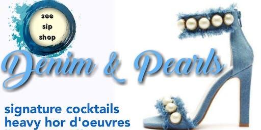 Baby Doll's Denim & Pearls