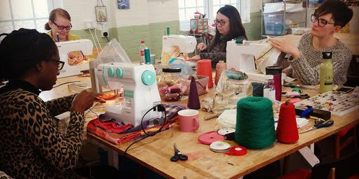 Beginners Sewing Workshop.