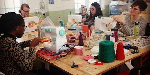 Beginners Sewing Workshop.