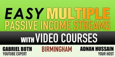 Easy Multiple Passive Income Streams with Video Courses