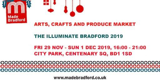 Made Bradford Markets - Illuminate Bradford 2019 - Sunday 1st December 2019