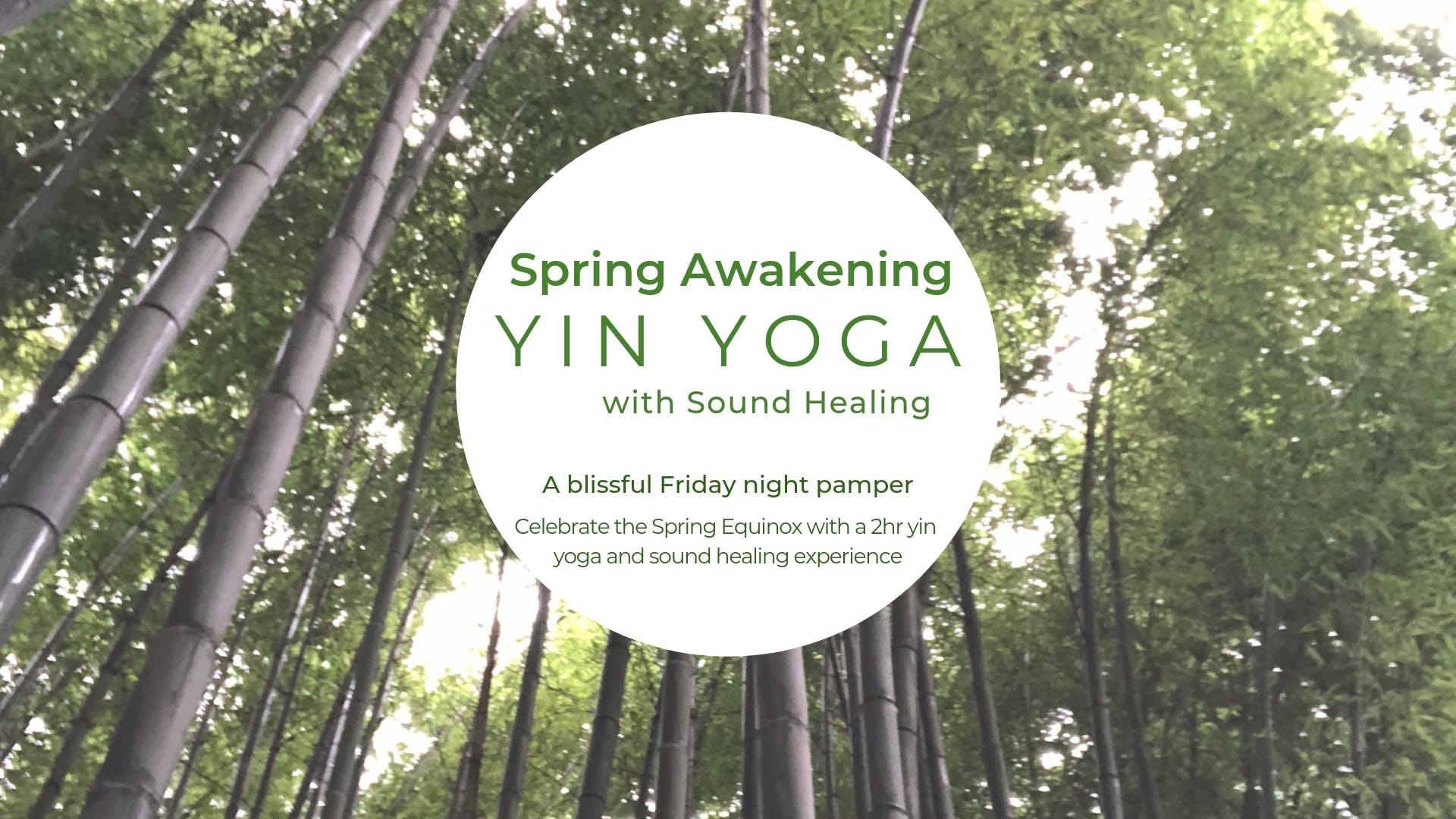 Spring Awakening - Yin Yoga & Sound Healing