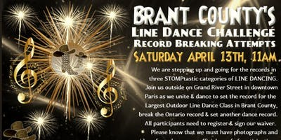 Brant County LINE DANCE Challenge & Record Attempt
