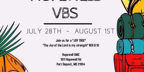 Camp Hopewell VBS tickets
