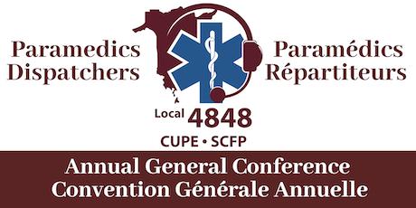 CUPE 4848 12th AGC / SCFP 4848 12e CGA tickets