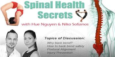 Spinal Health Secrets [Back Bend] Workshop