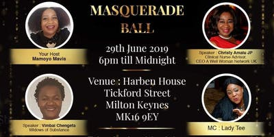 Widows of Substance Masquerade Ball