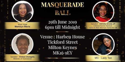 Widows of Substance Masquerade Ball